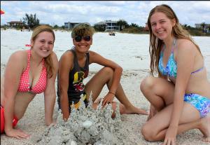Sara (MI) Nory (PR) Miranda (Ft. Lauderdale) Ringling Students