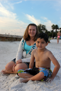 Jordan (13) and Christopher (6) from SRQ