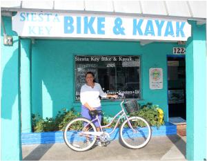 Rene at Siesta Key Bike and Kayak