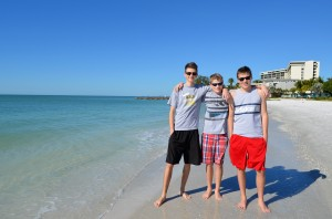 Cameron, Logan and Alexander from Canada