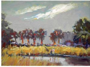 Painted by Artist Instructor Joseph Melancon