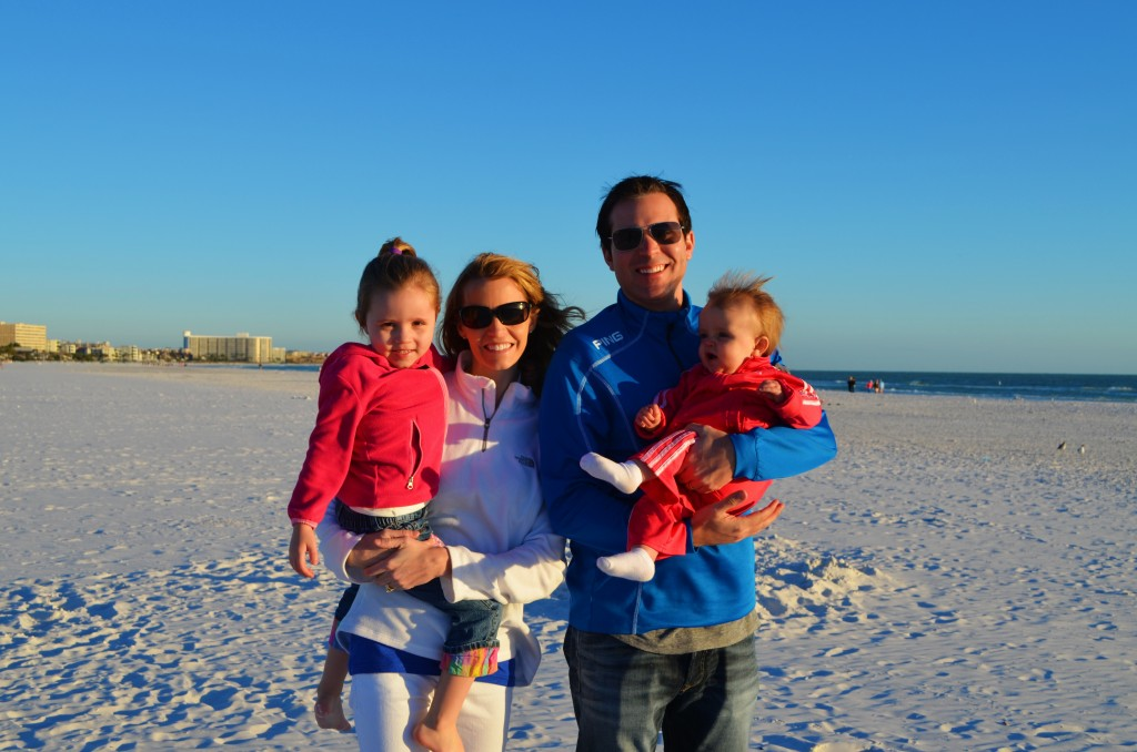 Julia and Derek with their daughters Leah and Hadley (10 mos) from South Dakota