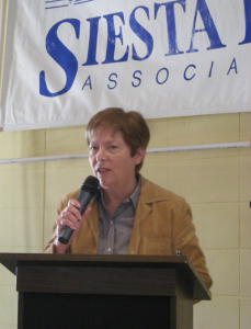 County Commissioner Nora Patterson