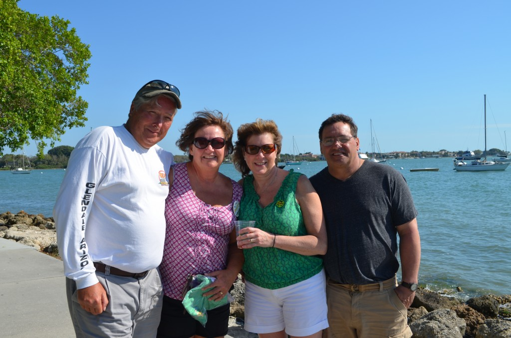 Dave, Deb, Veronica and mike from NY