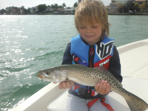 5-year-old-Toby-Williams-from-the-UK-holds-a-nice-troout-on-his-first-fishing-trip-ever