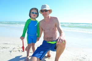 Viktor age 3 & his dad Peter from Sweden