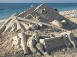 sand sculpting 1