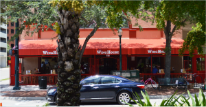 The WingHouse, now on the corner of Osprey Ave. and Main Street is part of a Florida chain of sports bars.