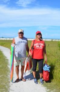 Lizabeth & Richard her cabana boy! From SRQ