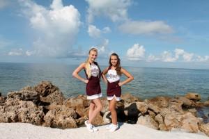 Jrs at RHS in Sarasota, (l-r) Carly and Brooklyn.
