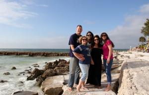 Jeff, Kristi from SRQ, Brandi, Windy from TX, Shara from MD., making some memories in Sarasota!