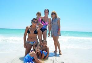 Bianca, Isabella age 5, Alana age 1, Amanda, Sebastian age 3, Blanca, from Sarasota