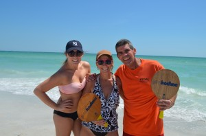 Brooke, Bonnie and Jeff from Sarasota