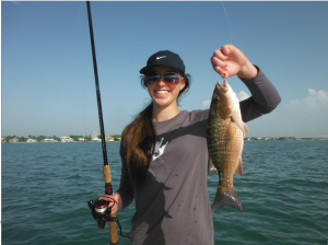 mangrove snapper fishing is excellent in August, providing both good action and fantastic table fare!