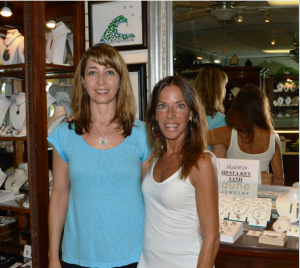 Silver City proprietor Monica Galfre and marketing director Debra Lewis say they love doing business with their longtime customers on Siesta Key. Photo by Debbie Flessner