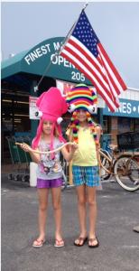 Squid Hat Girls