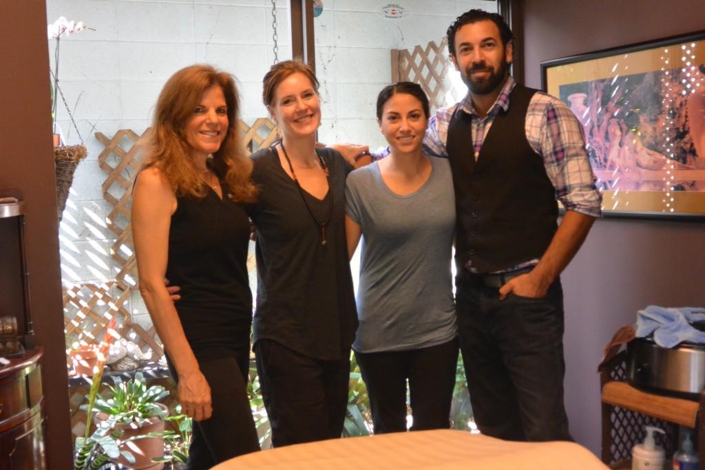 Connie Lewis, Stephanie Feebs Feibelman, Kirsten Calandra and Uriel Quiles