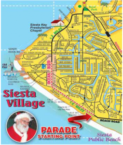 SK Parade Route map pic