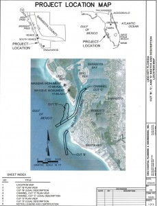 Lido Renourishemtn Project location map ACOE to FDEP Sept 4 2015