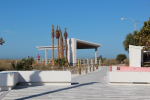 Although it is not officially a 'wedding pavilion,' this structure may be used for such ceremonies at Siesta Public Beach. News Leader
