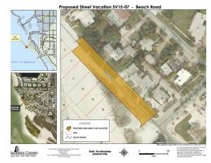 North Beach Road segment street vacation for BCC April 12 2016