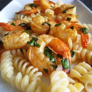 Zippy shrimp recipe