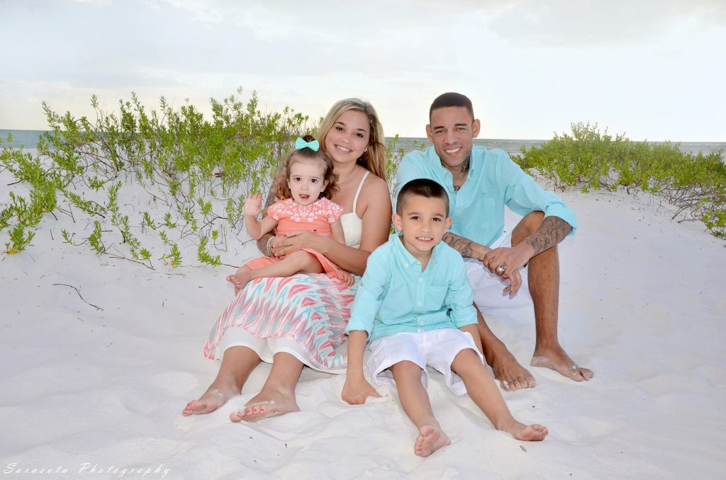 Kelly, Franklin, Bailey age 18 months, Carter age 6 from OH.