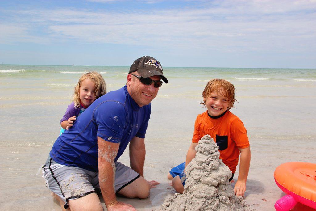 Minnarose age 2 ½, Mark, Mays age 8 from Sarasota