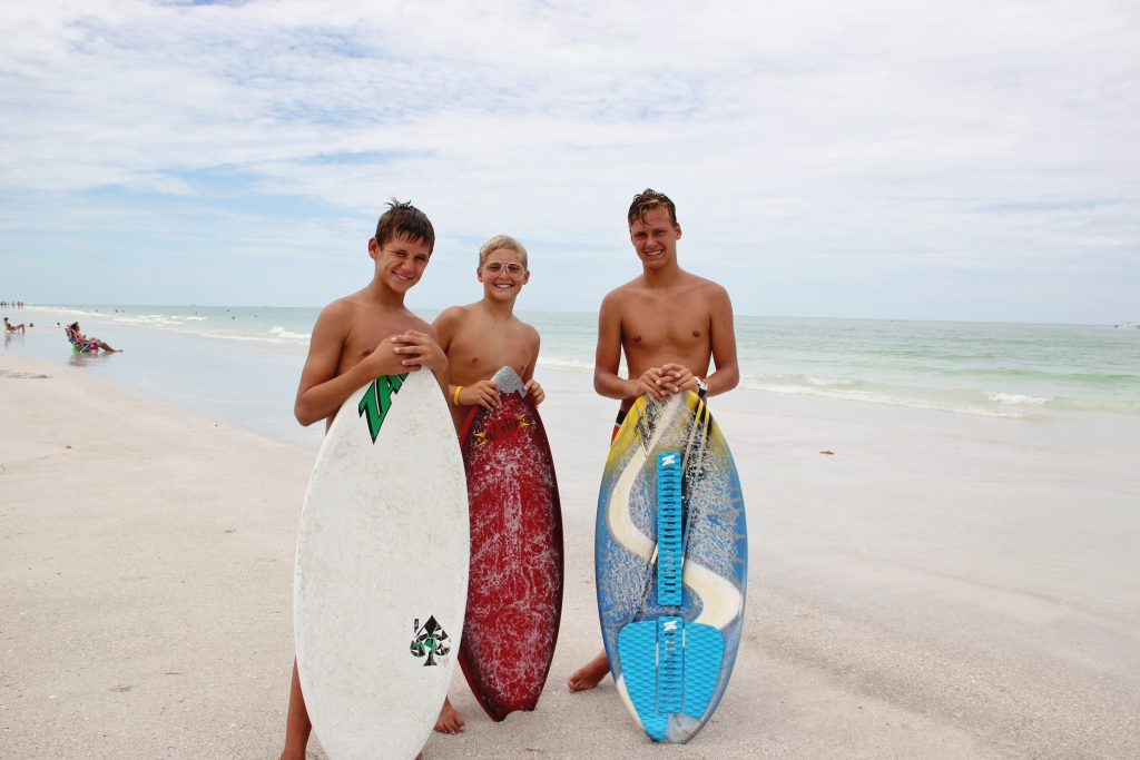 our own island skimboarders ~