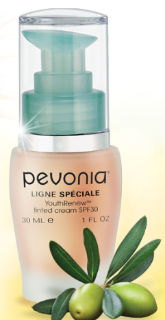 Pevonia Botanica tinted cream graphic