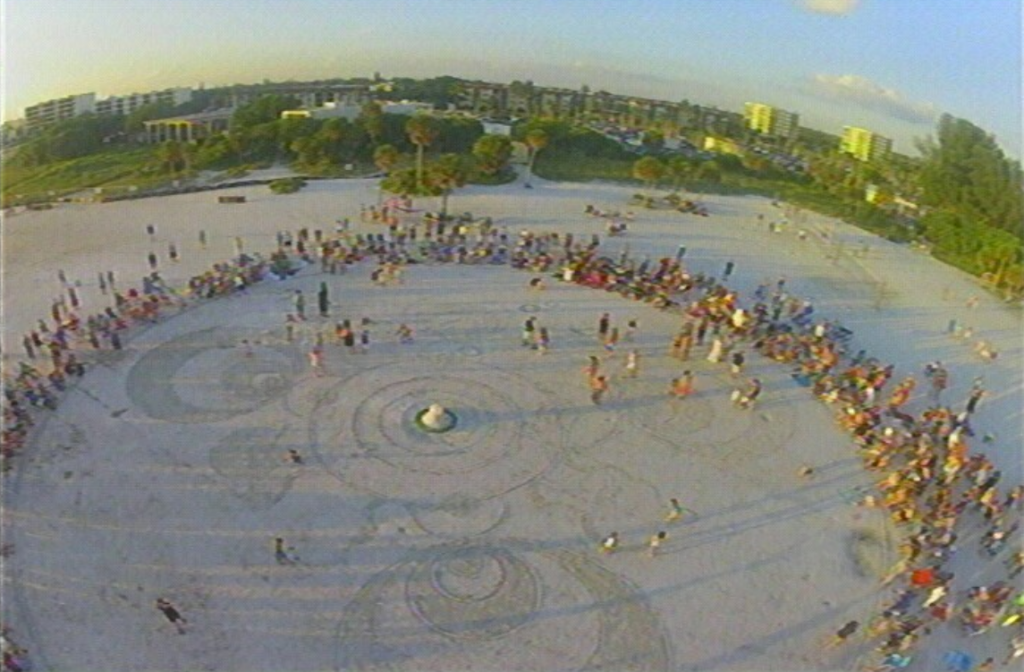 Siesta Key's own Drum Circle every Sunday about an hour before sunset.  Photo Courtesy of Art Legault.