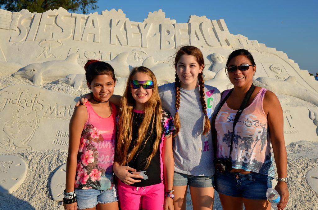 Arabella age 12, Sierra age 12, Gabriella age 13, Tiffany from Sarasota