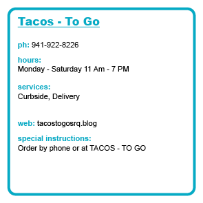 Tacos - To Go