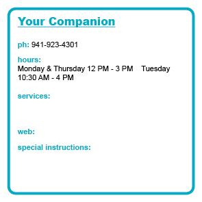 Your Companion